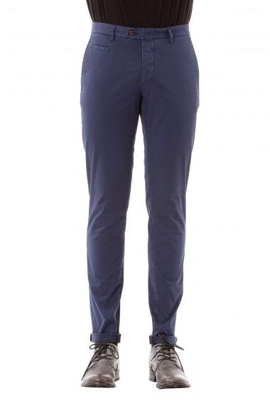 FAY Pantaloni blu con cinque tasche per uomo primavera estate 2015