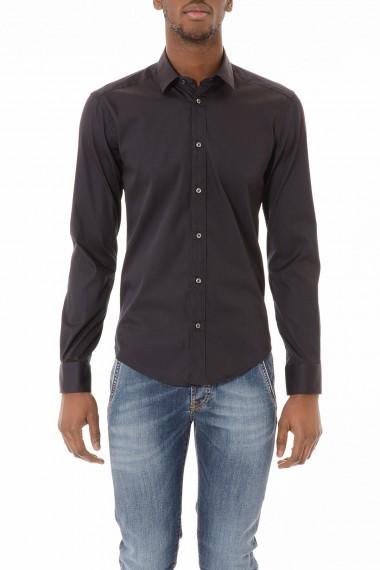 BRIAN DALES Camicia nera per uomo primavera estate 2015