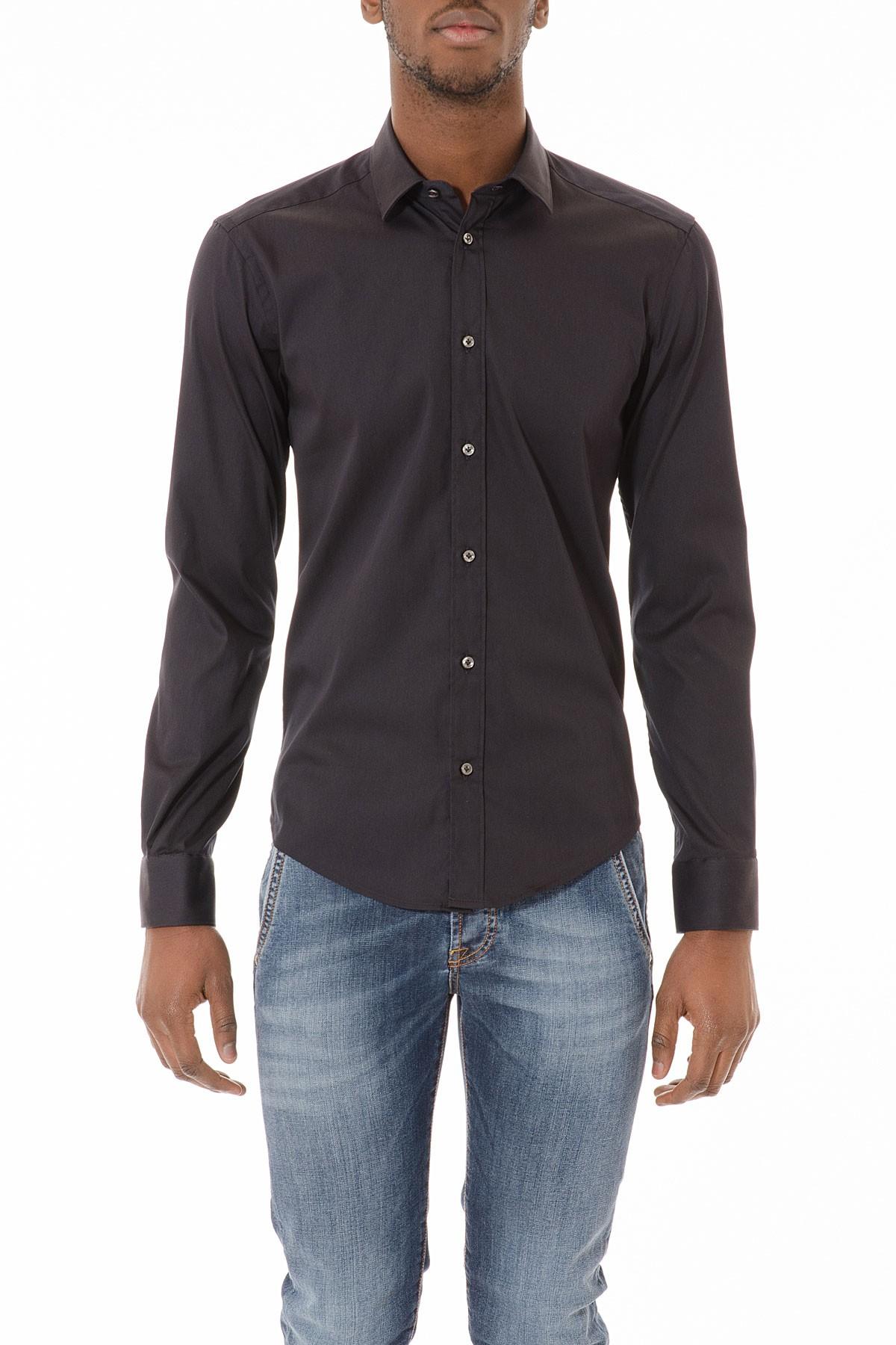 rivenditore di vendita 0e6ac c075e BRIAN DALES Camicia nera per uomo