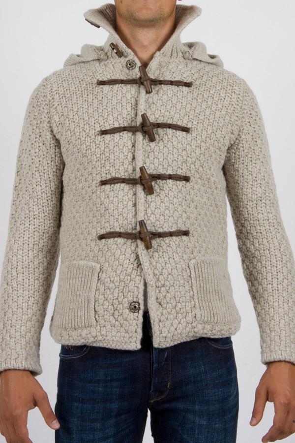 molto carino 620da 1d271 Brian Dales cardigan/giaccone lana uomo