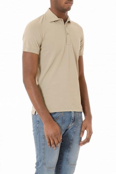 Polo beige a maniche corte per uomo H953 primavera estate 2015