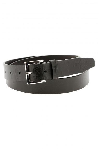 Cintura nera in pelle stampata ORCIANI per uomo primavera etate 2015