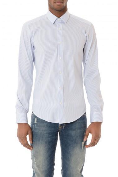 BRIAN DALES Camicia a righe per uomo primavera estate 2015