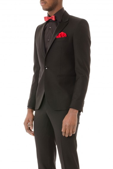Black suit in wool for man BRIAN DALES S/S