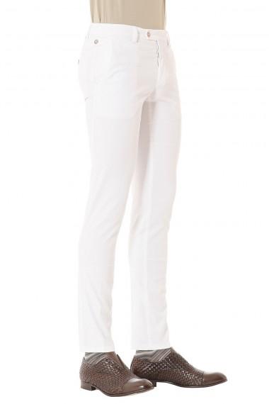 PIATTO Pantalone bianco per uomo primavera estate 2015
