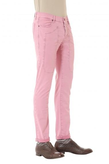 Pantaloni rosa P/E 2015 JECKERSON Johnny per uomo