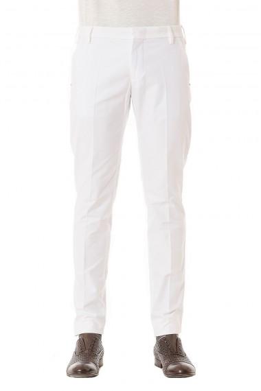 Pantaloni bianco in cotone per uomo ENTRE AMIS primavera estate 2015