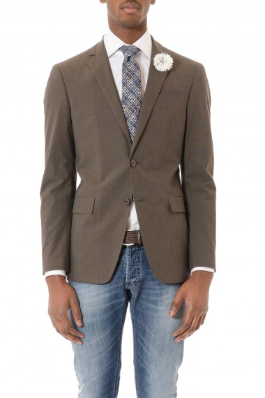 Gray blazer ETRO for man spring summer 2015