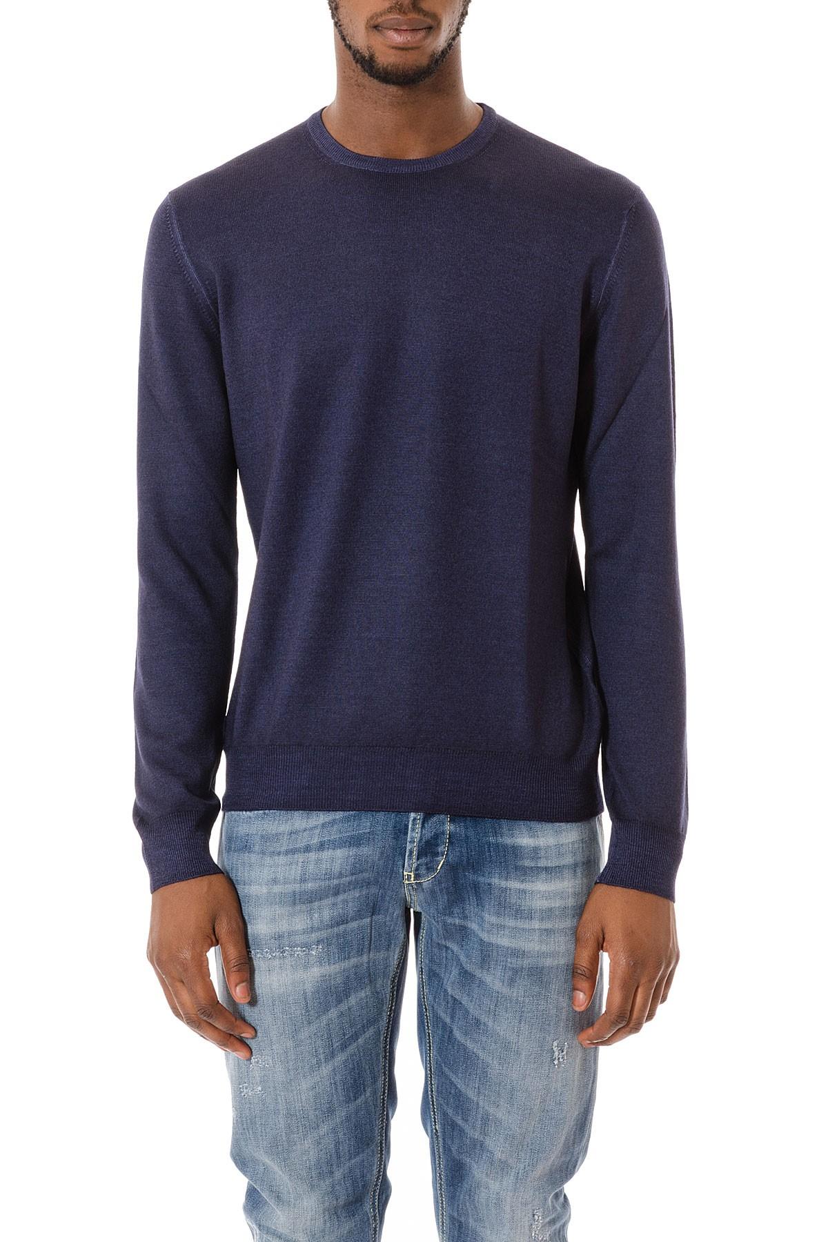 vendita calda online b53fc 90a84 Maglione blu per uomo FAY autunno inverno 15-16