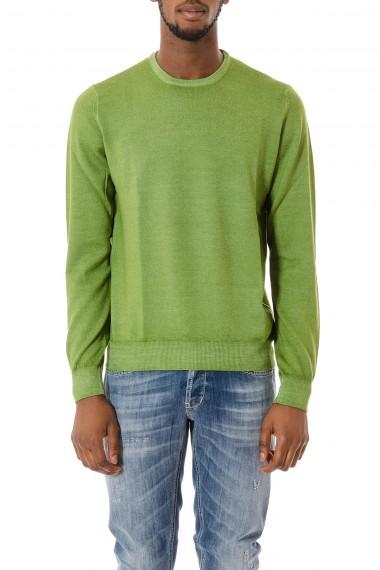 FAY Maglione verde per uomo autunno inverno 15-16