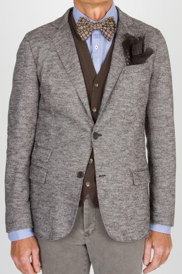 on sale 465ce ca32f Eleventy blazer with patches for men