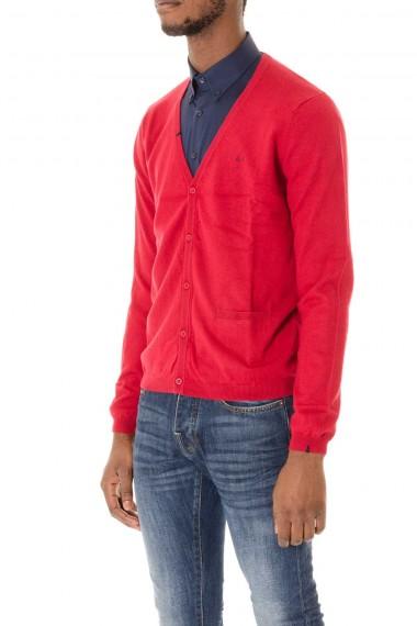 SUN68 autunno-inverno 2015-2016 cardigan rosso da uomo