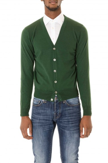 Green cardigan autumn winter 2015/2016 RIONE FONTANA for man