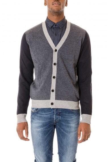 INDIVIDUAL Cardigan da uomo autunno inverno 2015-2016 Blu e grigio