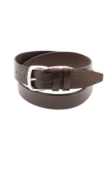 ELEVENTY Brown belt for men autumn winter 15-16