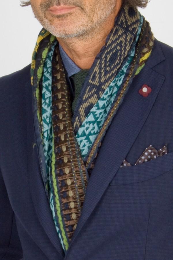 new product 0e5e3 e0ae8 Etro sciarpa lana e seta