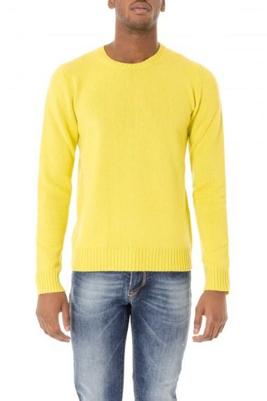 Da uomo TASMANIA maglione giallo autunno inverno 2015-2016