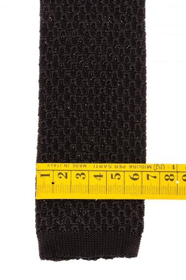 RIONE FONTANA Cravatta nera per uomo A/I 15-16