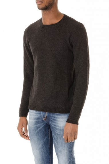 RIONE FONTANA Gray jumper for man autumn winter 2015-2016