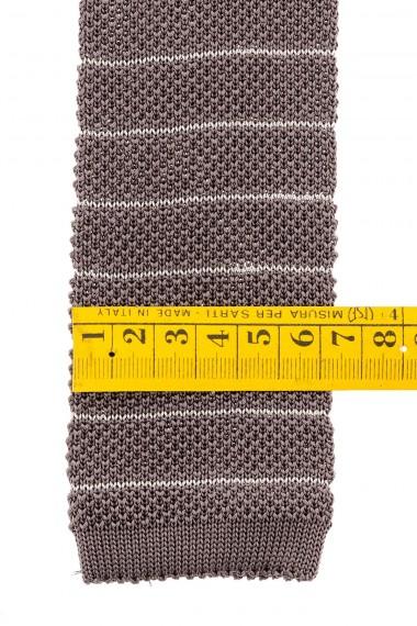 Cravatta grigia RIONE FONTANA autunno inverno 2015-2016