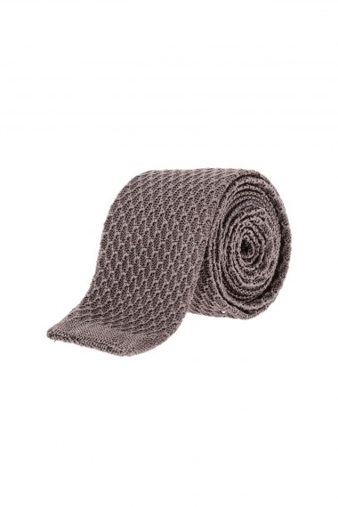 Gray tie for man RIONE FONTANA fall winter 15-16