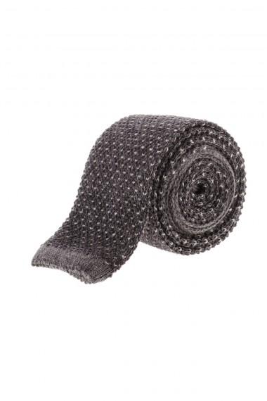 Cravatta grigio scuro autunno inverno 2015-2016 RIONE FONTANA