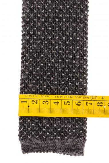 Dark gray tie for man fall winter 15-16 RIONE FONTANA