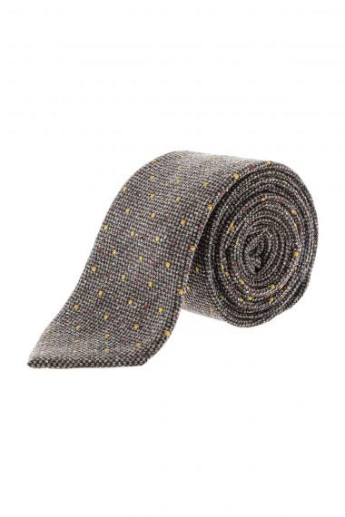 RIONE FONTANA Cravatta grigia autunno inverno 2015-2016