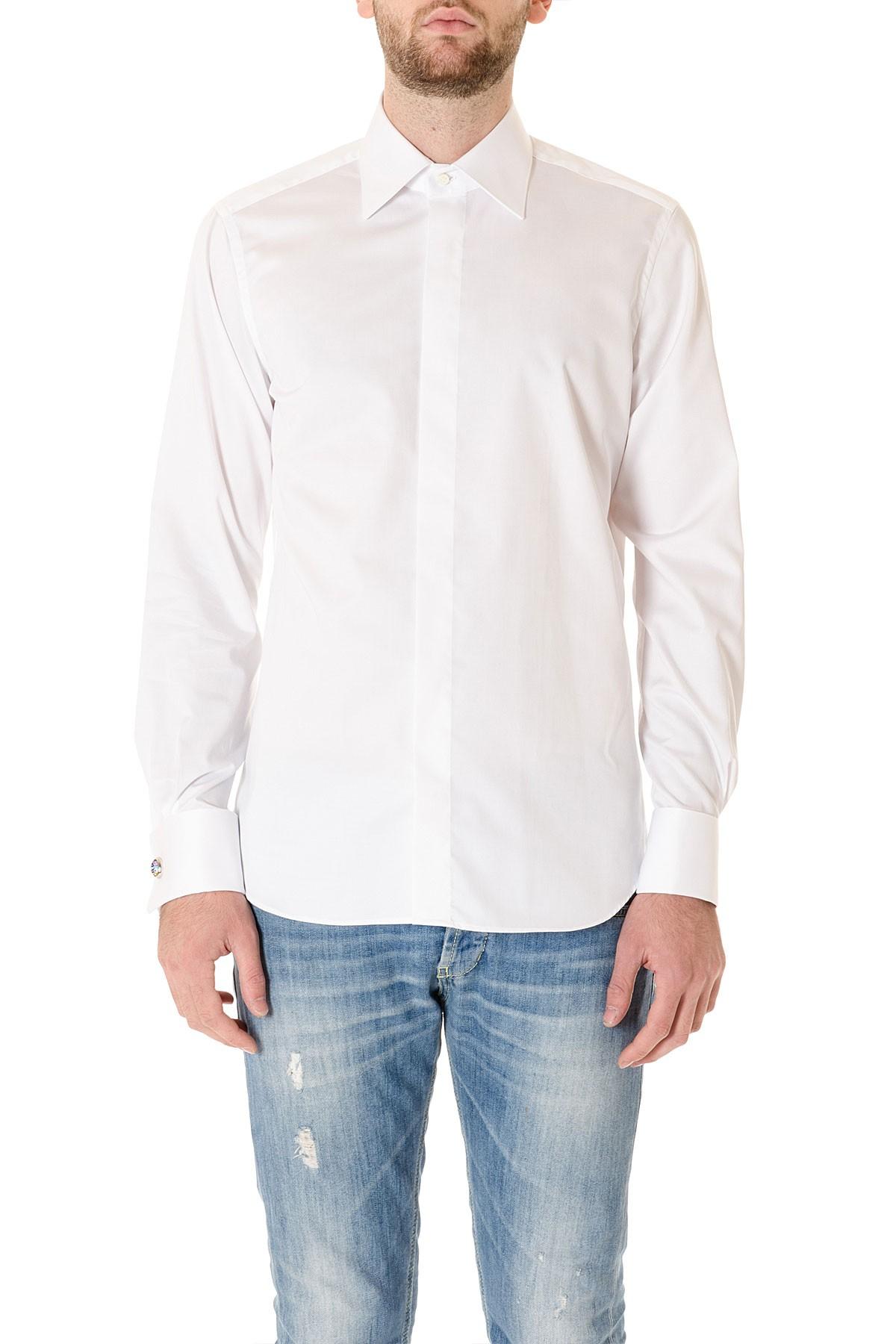 brand new 74dc5 6f418 BORSA Camicia bianca da cerimonia per uomo SIGMA