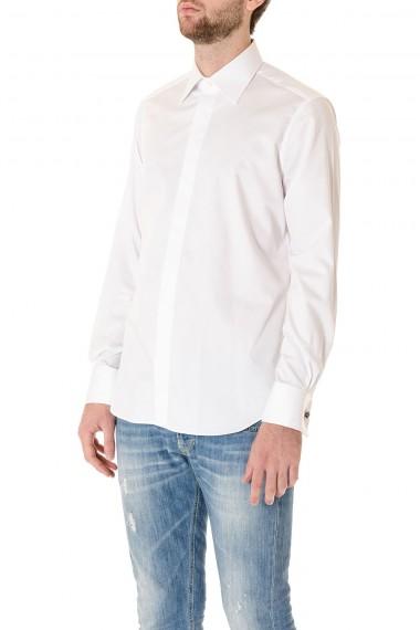 BORSA White formal shirt for man