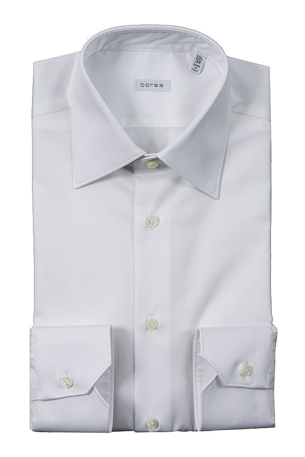 Borsa white shirt for men