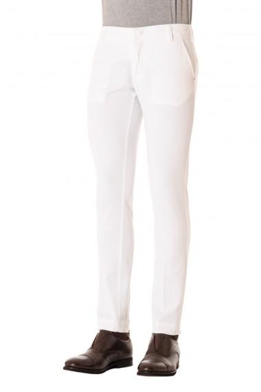 Pantaloni bianchi per uomo ENTRE AMIS P/E 16