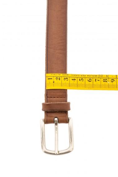 ORCIANI Cintura per uomo in cuoio P/E 16