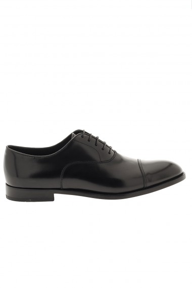 DOUCAL'S black shoes for man P/E