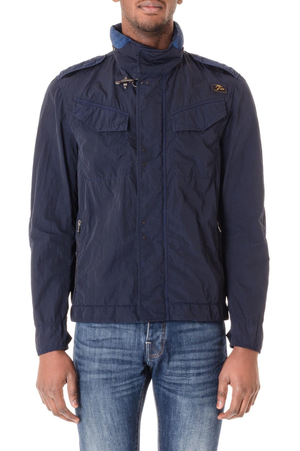 online store 01243 2a882 FAY Giubbotto blu per uomo made in Italy P/E 16