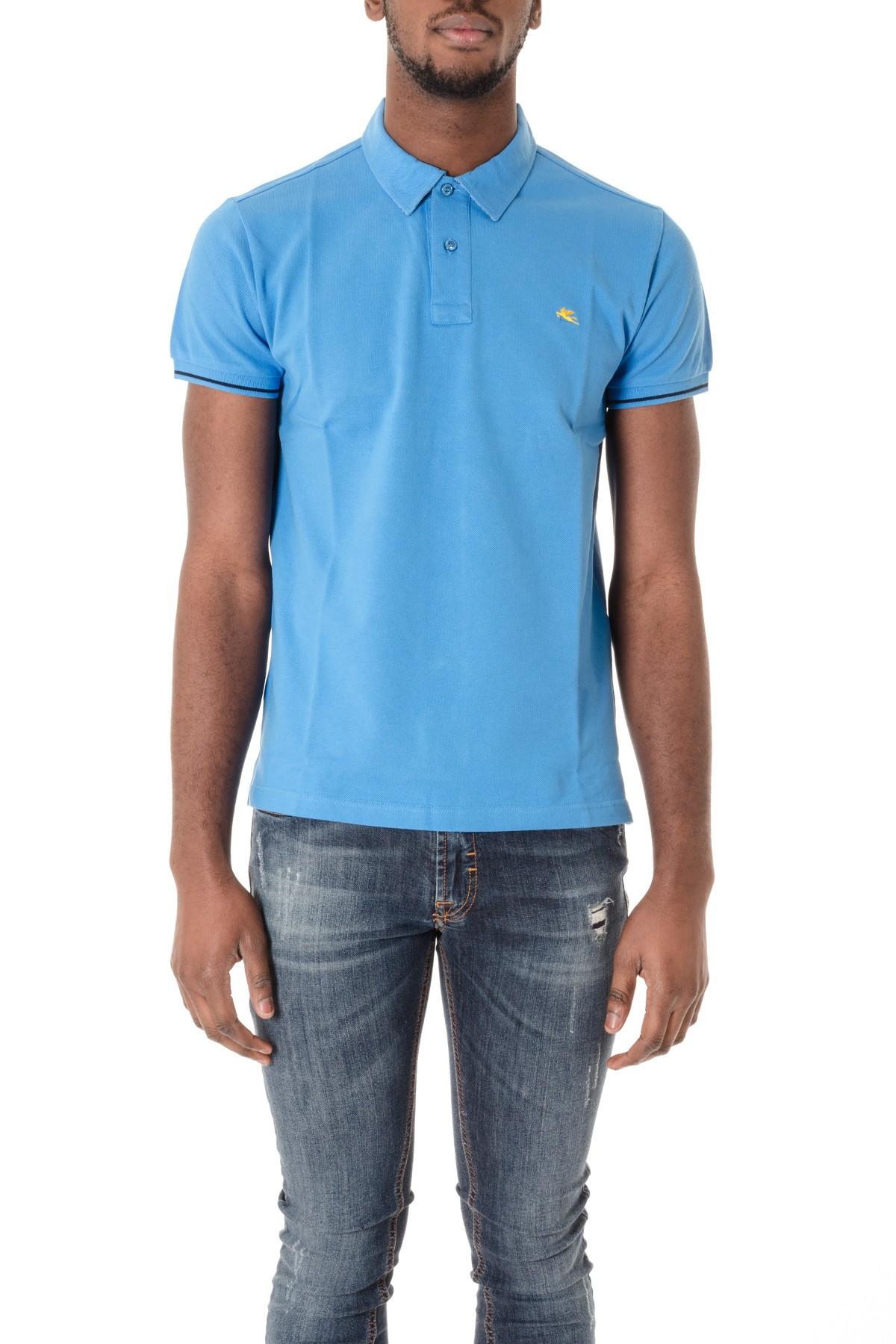 Etro s s 16 light blue polo shirt for men rione fontana for Etro men s shirts