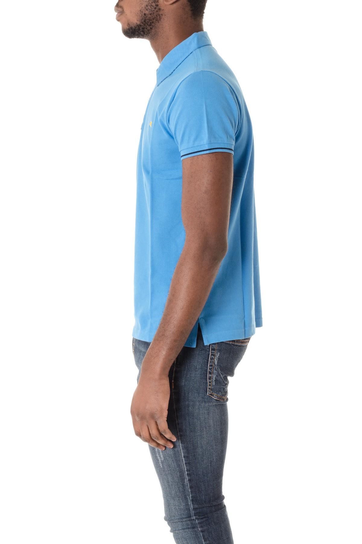 9255b12cf ETRO S/S 16 Light blue polo shirt for men - Rione Fontana