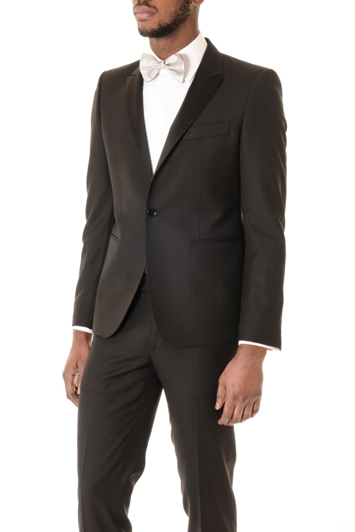 Abito in lana colore nero da uomo BRIAN DALES made in Italy - Rione ... aff54e83c13