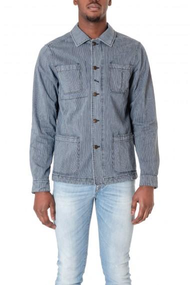 PALTO' S/S 16 Blue jacket for men LEONARDO