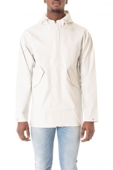 ELKA Giubbotto impermeabile bianco per uomo BLAVAND P/E 16