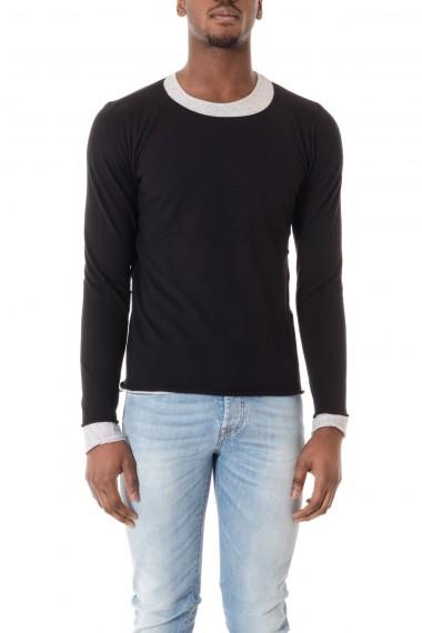Maglia 50&200 colore nero a girocollo per uomo  P/E 16