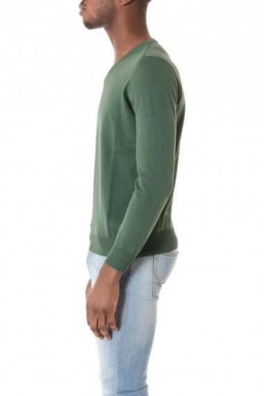 V-neck sweater for men RIONE FONTANA  S/S 16 green color
