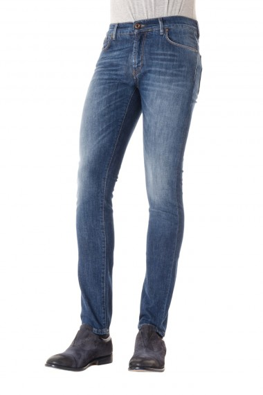 Jeans denim colore blu super slim fit  JECKERSON P/E 16