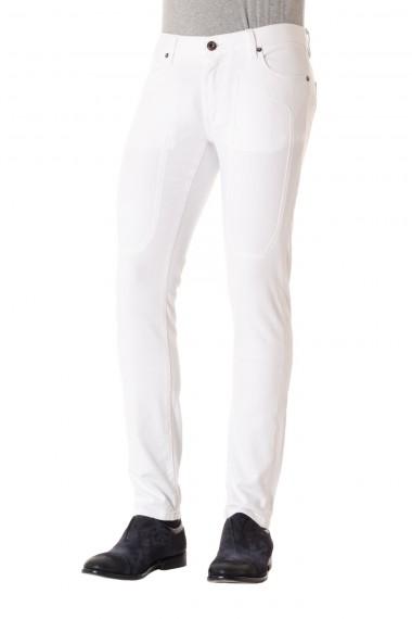 Pantalone cotone bianco super slim fit  JECKERSON   P/E 16