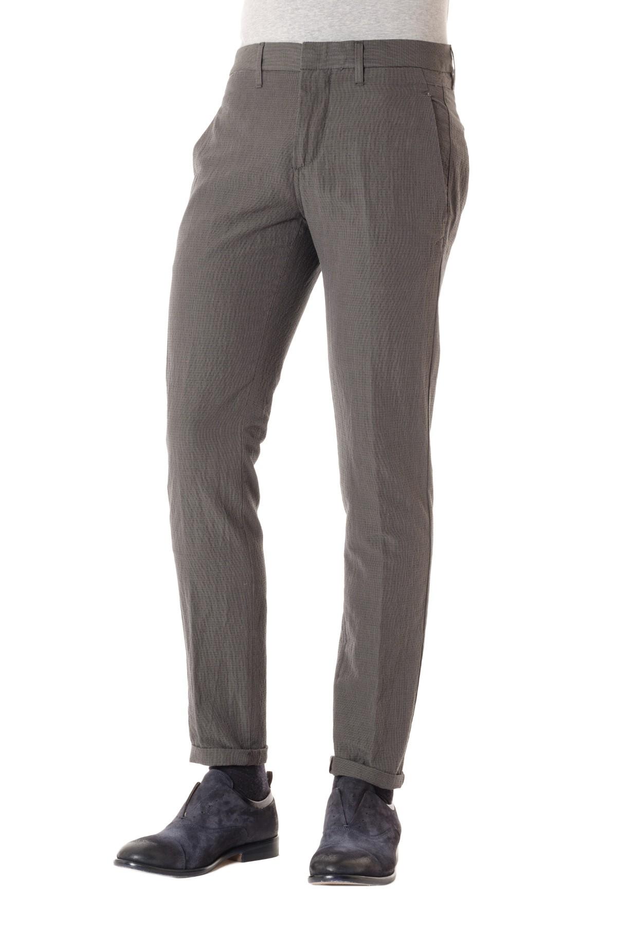 b348d8a81f Pantalone per uomo in lino e cotone DONDUP P/E