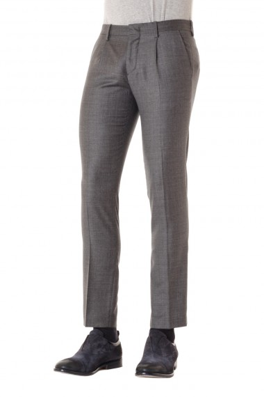 S/S 16  Wool trousers for men PAOLO PECORA