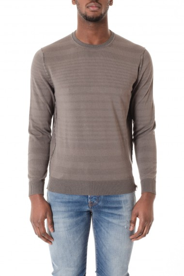 S/S 16 Reversible crew neck sweater  H953 gray color