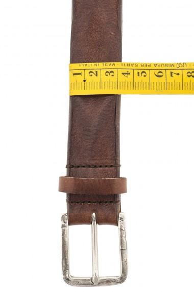 Cintura in pelle per uomo RIONE FONTANA