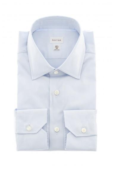 Camicia per uomo celeste BORSA made in Italy