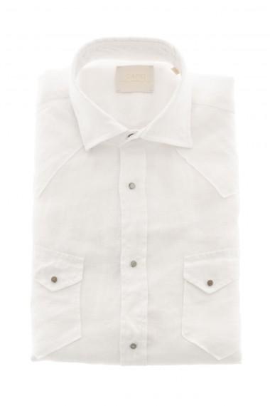 Camicia per uomo bianca in lino CAPRI P/E 16